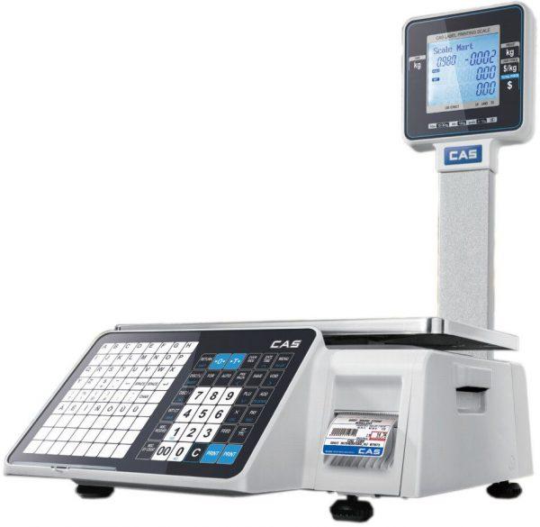 Весы с печатью этикеток CAS CL-3000J