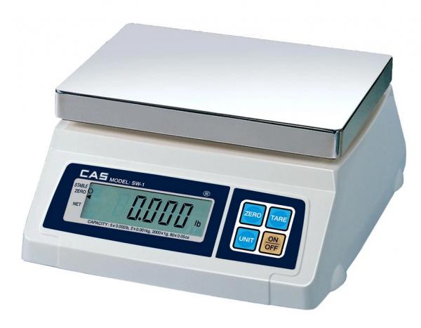 Весы порционные CAS SW-10 (SW-I-10)