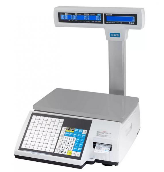 Весы с печатью этикеток CAS CL-5000J