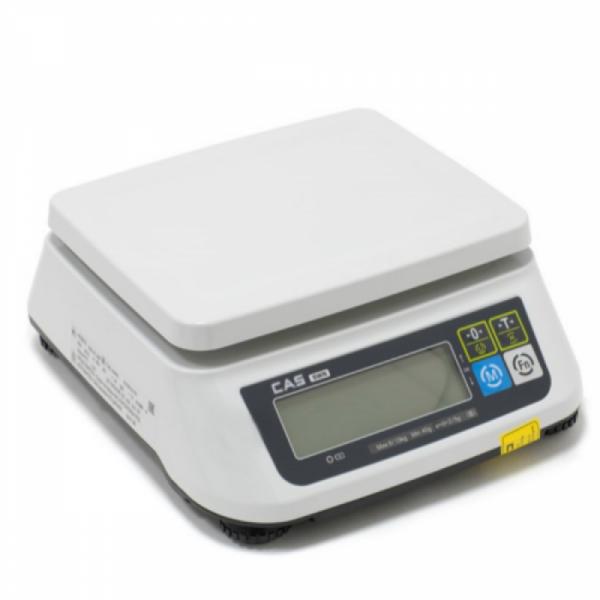 Весы CAS SWN-15 (электронные, порционные)