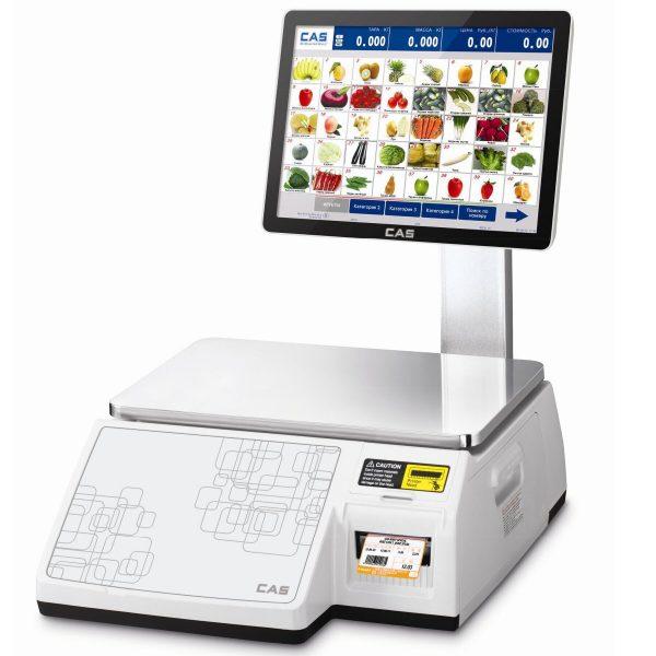 Весы с печатью этикеток CAS CL7000